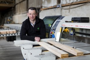 07/04/2016 Aidan Hennessy of Hennessy Timber Group pictured at one of their manufacturing plants near Clonakilty, West Cork. Hennessy Timber Group specialise in design and manufacture of Garden Sheds, Bespoke Timber Cabins, Garden Furniture, Fencing, Gates, Kids play units, Kennels, Timber shipping crates and packaging. Hennessy Timber Group has been established for 15 years and over the years has earned an excellent reputation for high quality timber products and exceptionally customer service. Hennessy Timber Group have gained extensive experience in Residential, Commercial and Leisure Markets. The company have been awarded numerous large Commercial Contracts for over the past 15 years. Some of these projects include The Boardwalk at the Clarion Hotel in Cork and all timber works at the CastleMartyr Resort Hotel in Cork. In recent years, Hennessy Timber Group have entered the leisure market with the design and manufacture of a unique Timber Pirate Ship Playground commissioned by the Quality Hotel Group. The company has also designed and built a bespoke timber panel maze which is proving a big attraction at the Rosscarbery Adventure Centre in Cork. Hennessy Timber Group is a full member of the National Guild of Master Craftsmen. The National Guild of Master Craftsmen is the largest organisation representing skilled and accredited tradesmen and builders. The workforce of Hennessy Timber Group are well-established master craftsmen with a wealth of knowledge and experience. Hennessy Timber Group is a member of the National Standards Authority of Ireland (NSAI) which is Ireland's official standards body. Being a member of this national certification authority ensures Hennessy Timber Group's goods and services conform to applicable standards and are a reliable source. The NSAI's certification services are recognised by accreditation bodies in Ireland, the UK, the USA and Canada and focus on quality management. Picture: Emma Jervis Photography